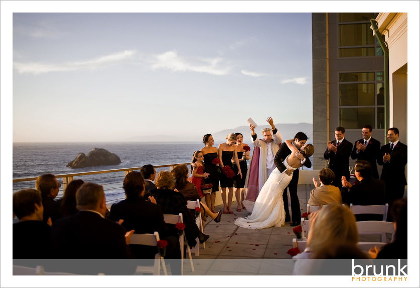 Jessica Justin Married Sf Fairmont Amp Cliff House