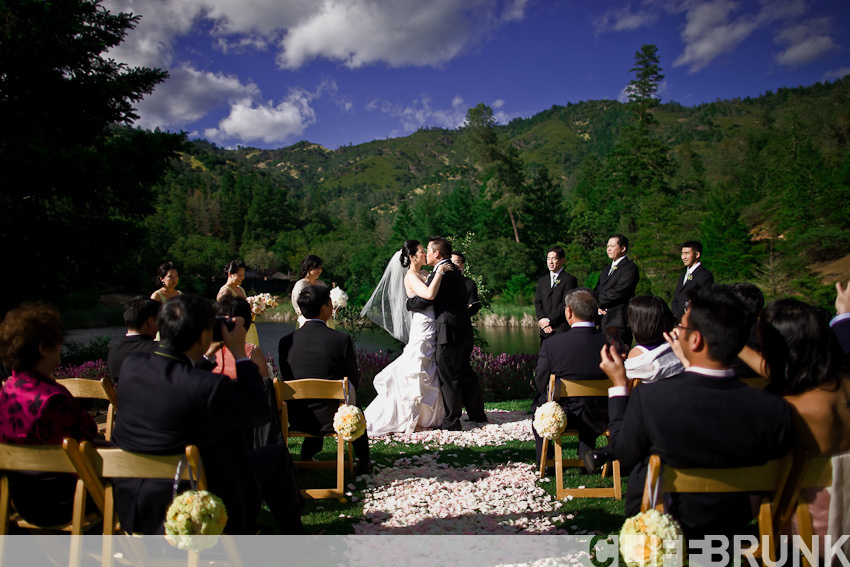 chris jeff married calistoga ranch wedding